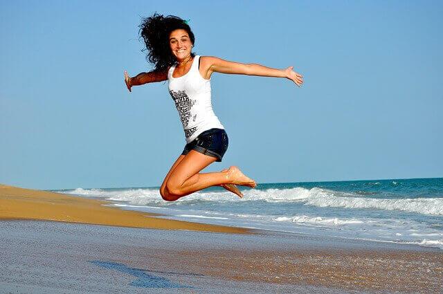Beach woman1